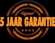 Construct 5 jaar garantie logo