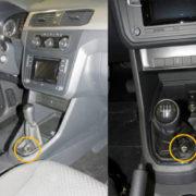 VW Caddy handgeschakeld